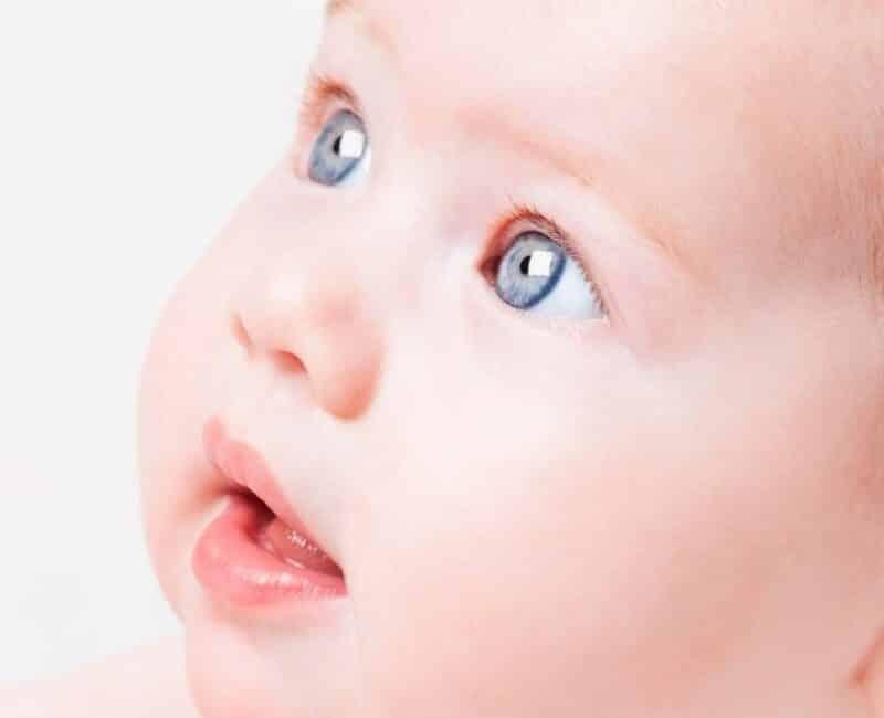 Baby eye exam infant Langley