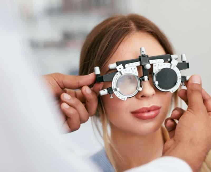 adult eye exam Langley doctor