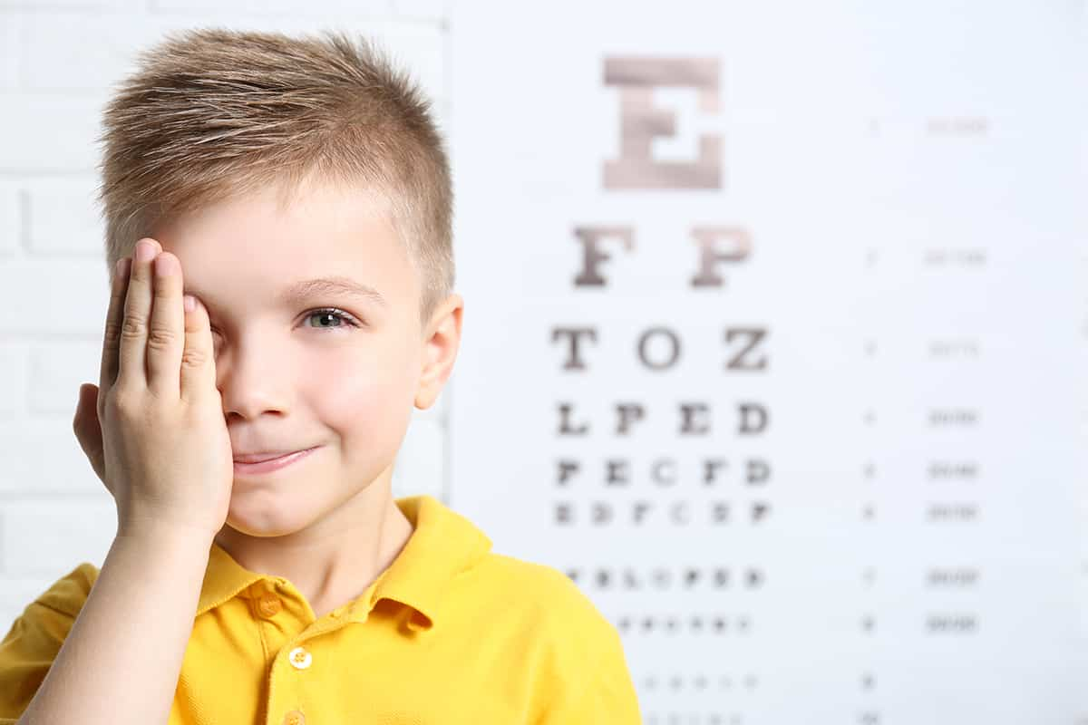 insight eye doctor Langley kid