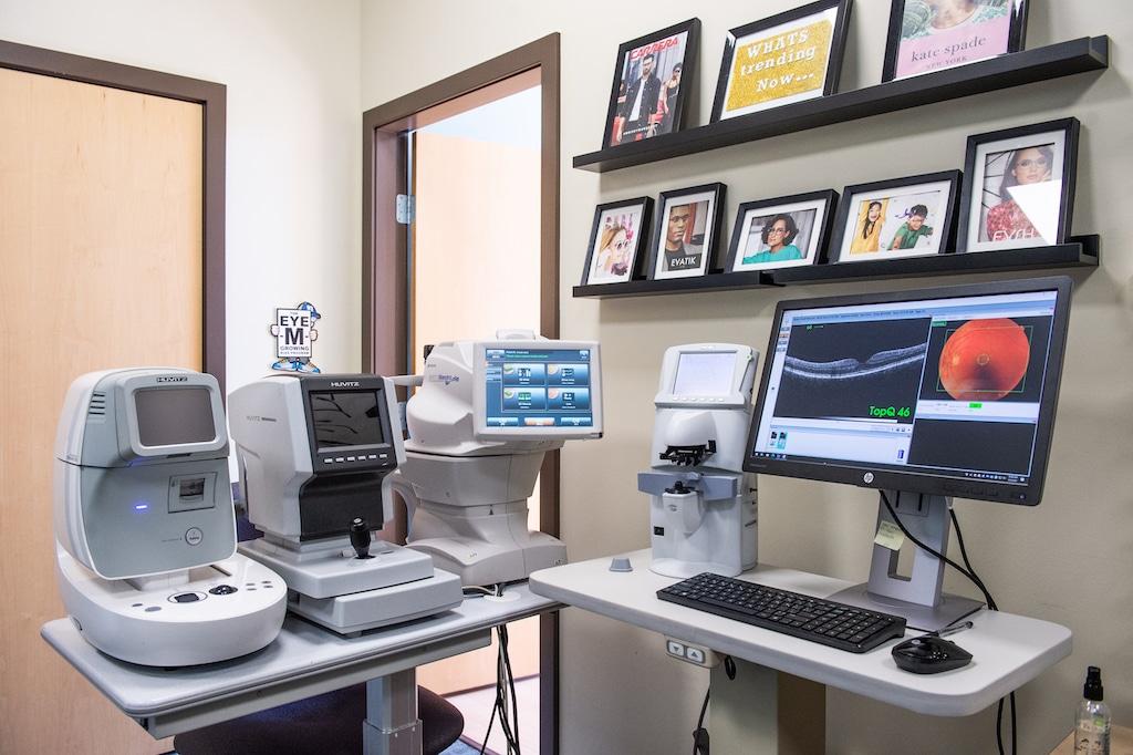 InSight Optometry vision Langley Eye exam Pretesting equipment