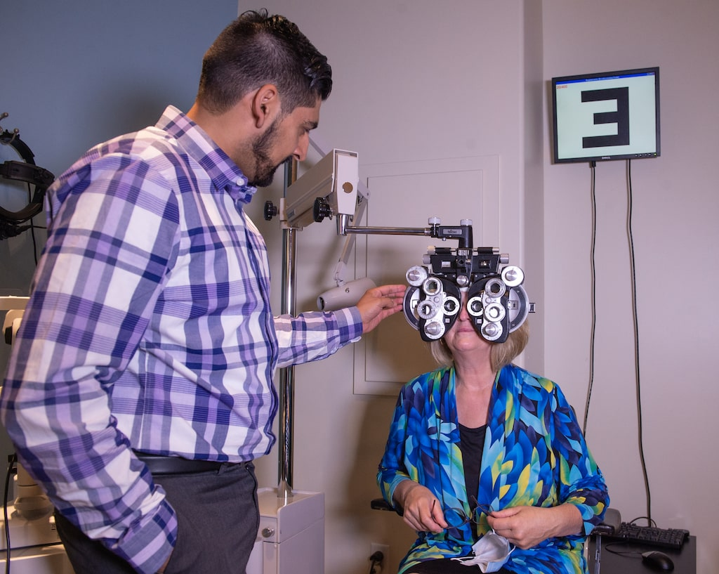 InSight Optometry vision Langley adult eye exam