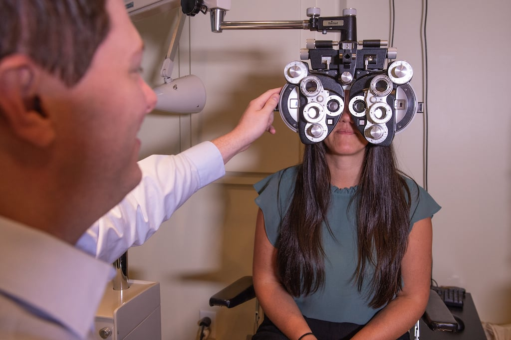 InSight Optometry vision Langley ey doctor adult exam