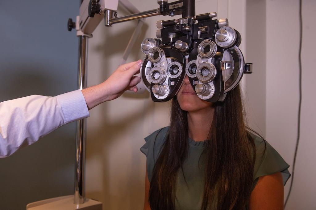 InSight Optometry vision Langley eye doctor exam